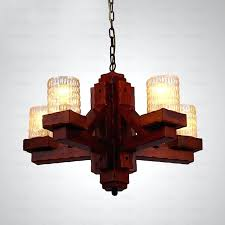rustic wood chandelier new wooden wrought iron and glass chandeliers in plans 5 reclaimed