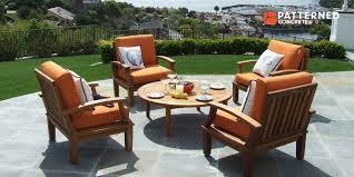 best patio furniture patterned concrete