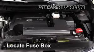 replace a fuse 2015 2016 nissan murano 2015 nissan murano 2006 nissan murano fuse diagram at Nissan Murano Fuse Box
