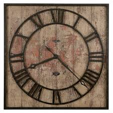 round oversized wall clocks for traditional living room design ideas vintage wooden oversized wall clocks