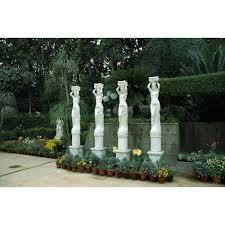 garden columns. Marble Columns \u0026 Pillars Garden
