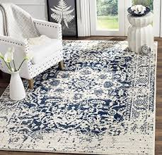 7x10 area rug target luxury safavieh madison collection mad603d cream and navy distressed