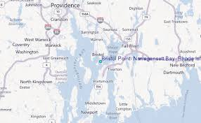 Bristol Point Narragansett Bay Rhode Island Tide Station