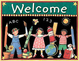 Kids Welcome Chart From Susan Winget Teacher Postcards