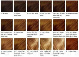 Copper Brown Hair Color Chart Matrix Color Chart Google Search Brown Hair Colors