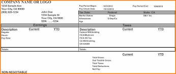 create paycheck stub template free 11 create pay stubs online for free pay stub format