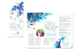 Brochure Publisher Templates Free Download Fold Srmuniv Co
