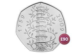 Kew Gardens Design 50p Kew Gardens 50p Named Most Valuable Coin Last Year And