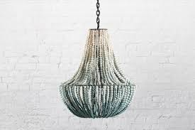 kitchen gorgeous turquoise beaded chandelier 27 klaylife clay modern lighting lim seaspray ombre master beautiful turquoise