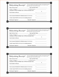 printable rent receipt template printable rent receipt forms luxury 28 of baby sitter receipt