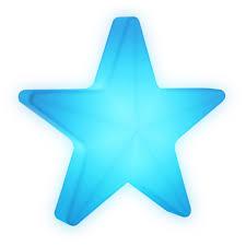 Star Beleuchteter Stern 40 Cm Mit Led Und Akku