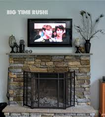 brilliant mantel decorating fireplace mantel with tv above i want to hide my cords so desperately don t ideas e