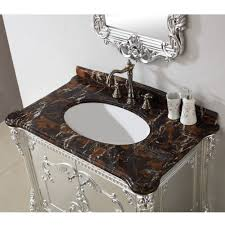 39 Bathroom Vanity Art Antique 39 Inch Single Sink Bathroom Vanity Micro Crystal