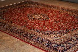 656 kashan rugs this traditional rug is approx imately 9 feet 5 inch x 13