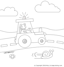 Small Picture Road coloring page