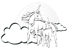 Cute Unicorn Coloring Pages Pdf Best Unicorns Coloring Pages Flying