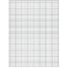 Graph Paper Template Printable Free 10 By Grid Large Arodz Co