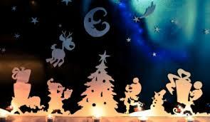 Fensterbilder Zu Weihnachten Verschiedenen Techniken