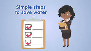 simple steps to save water you