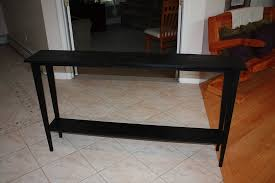 skinny hallway table. Image Of: Black Skinny Sofa Table Hallway T