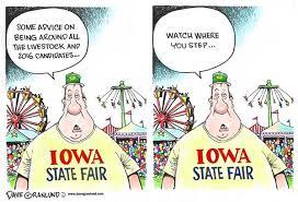 Iowa State Fair and 2016 politics by Political Cartoonist Dave ... via Relatably.com