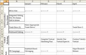Annual Marketing Plan Template Organizing Your Marketing