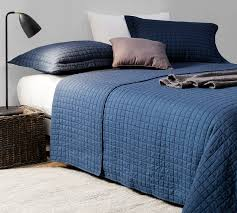 blue cotton quilt. Contemporary Blue Classic Supersoft Quilt  PreWashed With Cotton Fill Nightfall Navy  Twin XL Inside Blue B