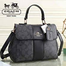 coach. Sling Bag Authentic Quality (Black)