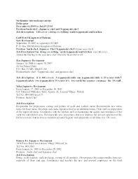 Cook Job Description For Resume Impressive Cook Resume Template Skills Cv Professional Good Example Resume