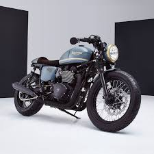 awesome bike triumph bonneville cafe racer by bunker custom