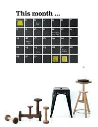 weekly calendar chalkboard wall decal source wall decal calendar dry erase no nails dry erase calendar wall decal