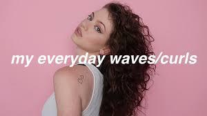 My Curly/Wavy Hair Tutorial   Dytto x <b>John Frieda Frizz</b> Ease ...
