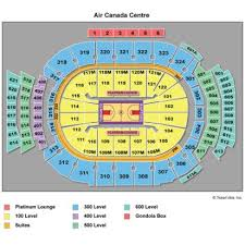 Credible The Acc Seating Chart Aircanadacentre Raptors