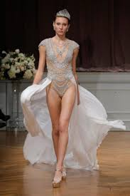 Not Your Mama s Wedding Dress Designer s Naked Gown for Brave.