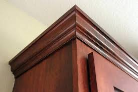 how to install crown molding on cabinet interior decor ideas installing kitchen