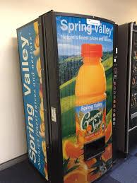Orange Juice Vending Machine Classy Orange Juice Vending Machine At UOW Wollongong StudentVIP