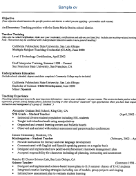 Science Job Related Cv Sample ...
