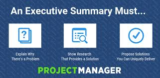 Execuative Summary How To Write An Executive Summary Best Format
