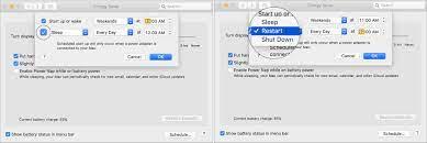 Mac Otomatik Açmak ve Kapatmak Nasıl Yapılır