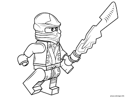 Coloriage Lego Ninjago Cole Dessin Ninjago Coloring Pages Cole