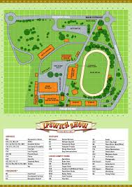 ipswich show society  show map