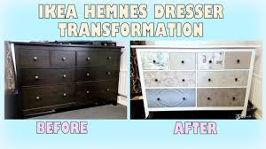 hemnes ikea furniture. DIY Makeover - Transforming Ikea Hemnes Dresser | Upcycling Furniture