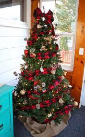 Plaid Christmas Tree Buffalo Check Plaid Christmas Tree Weekend Craft