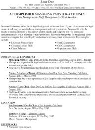 sample resumes for lawyers experienced attorney resume samples explore cover letters examples