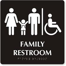 bathrooms signs. Zoom, Price, Buy Bathrooms Signs