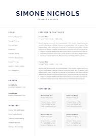 Professional Resume Template For Word Mac Pages 1 And 2