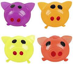 Anti-Stress Jello Pig Cute Toys Red/Yellow/Orange/Purple Splat ...