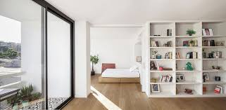 view in gallery small balcony and large glass doors bring in plenty of light into the apartment