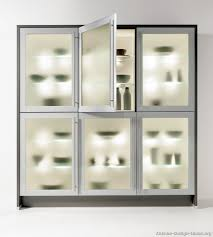 excellent glass door kitchen cabinets with frosted glass design ideas part 30