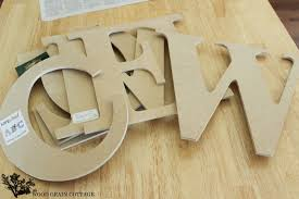 letters from hobby lobby huge diy welcome sign by the wood grain cottage